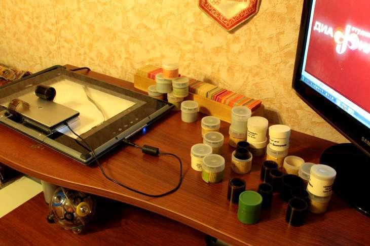 Сканер для оцифровки фотопленки и слайдов в домашних условиях 59