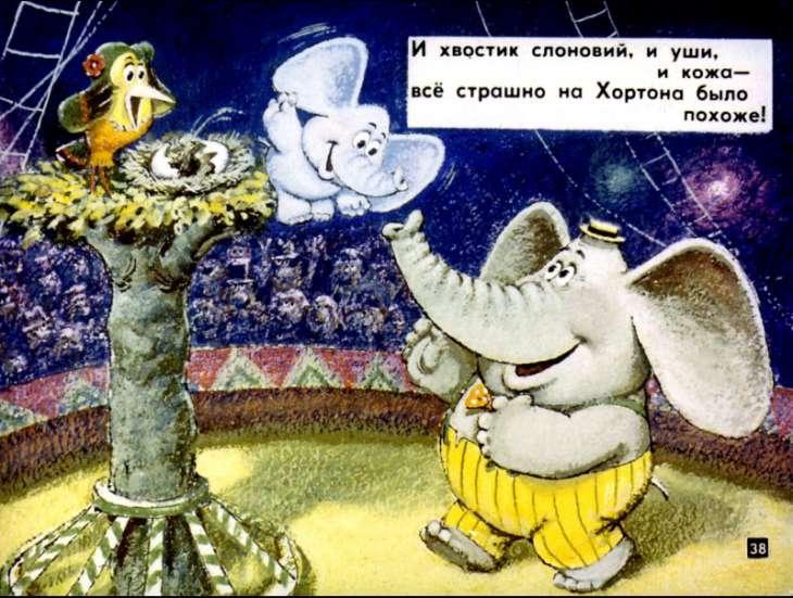 Хортон высиживает яйцо (1942) рейтинг и оценки КиноПоиск