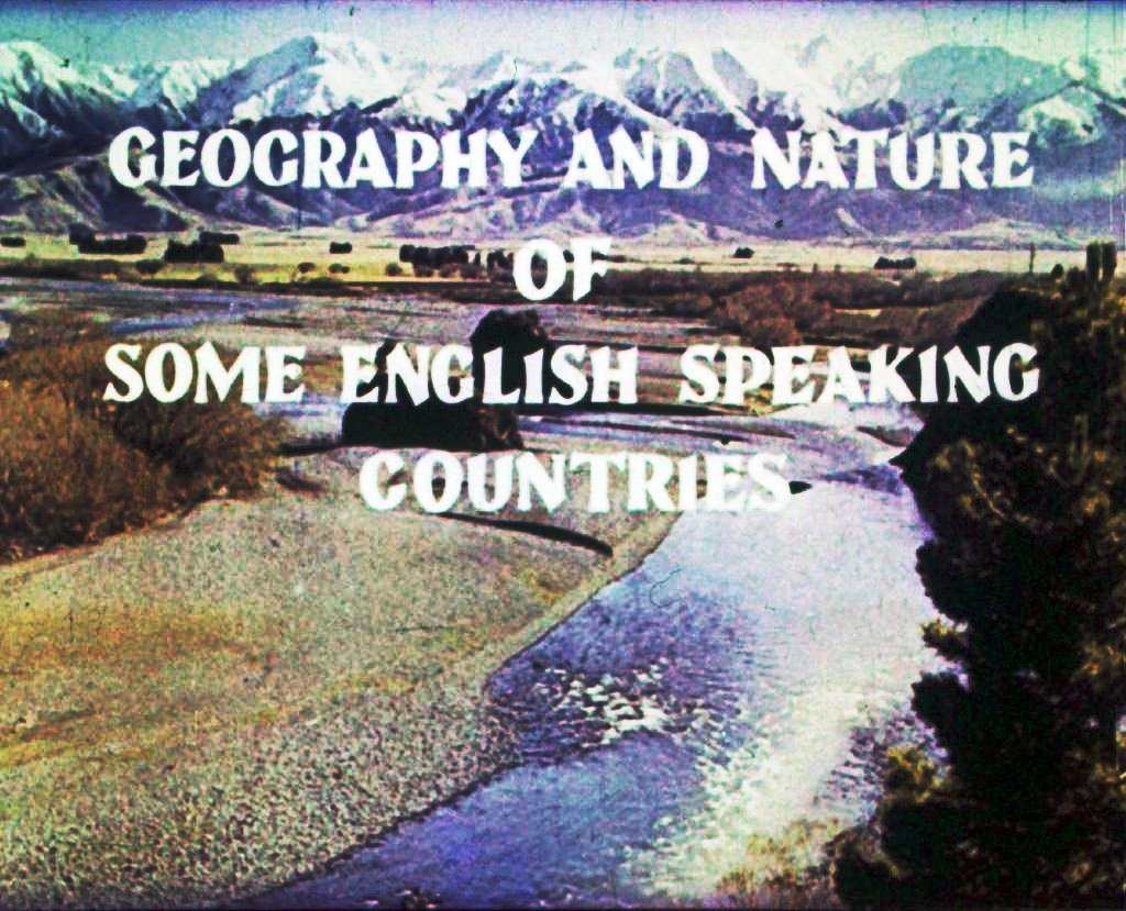Geography and nature of some english speaking countries. Part 1