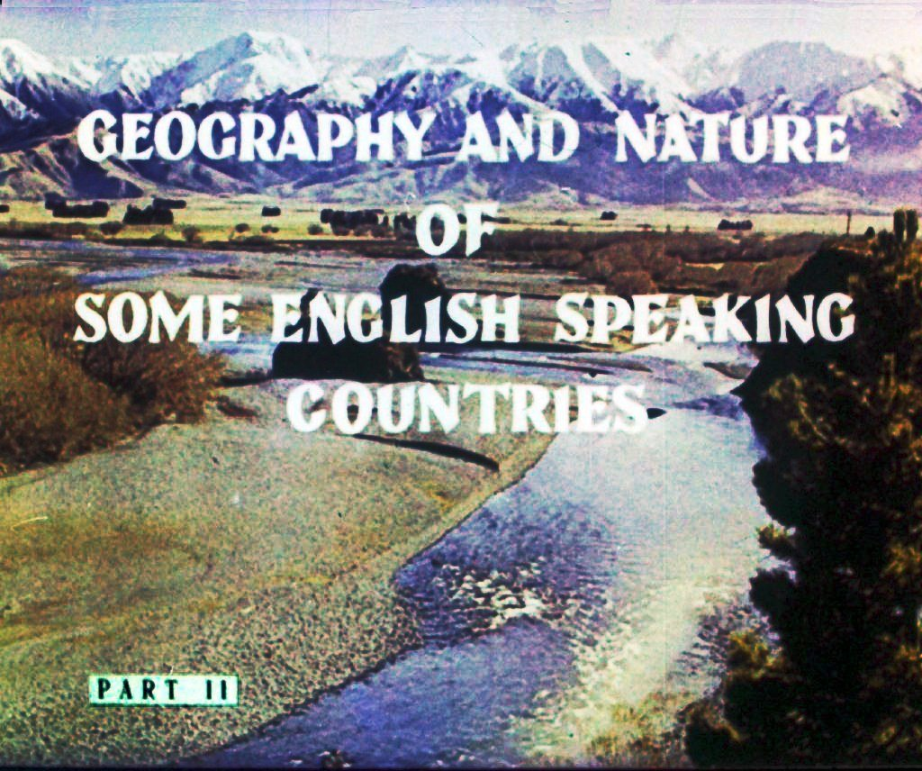Geography and nature of some english speaking countries. Part 2